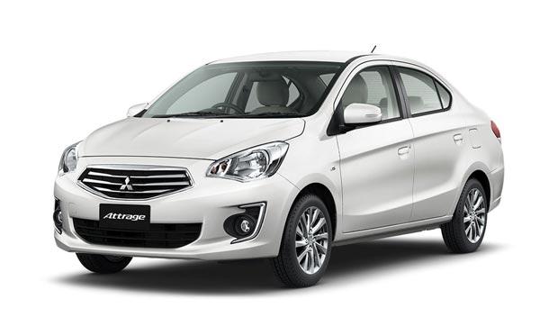 Mitsubishi Attrage sedan and Mirage hatchback in 2016