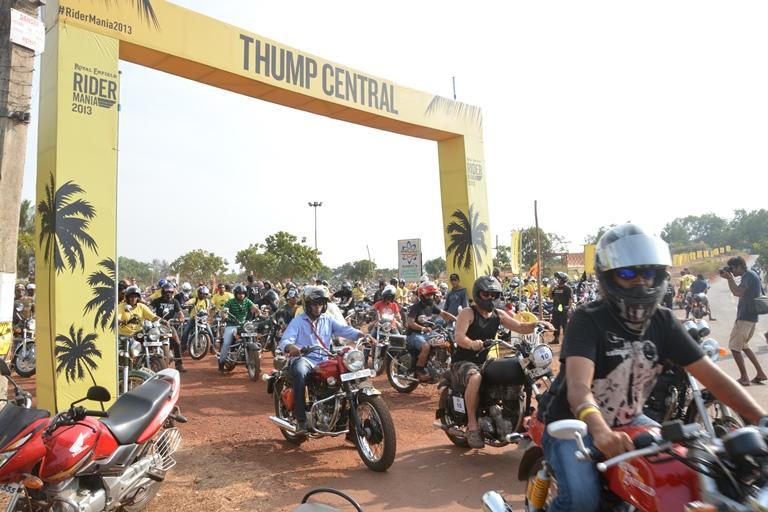2014 Royal Enfield Rider Mania - Goa