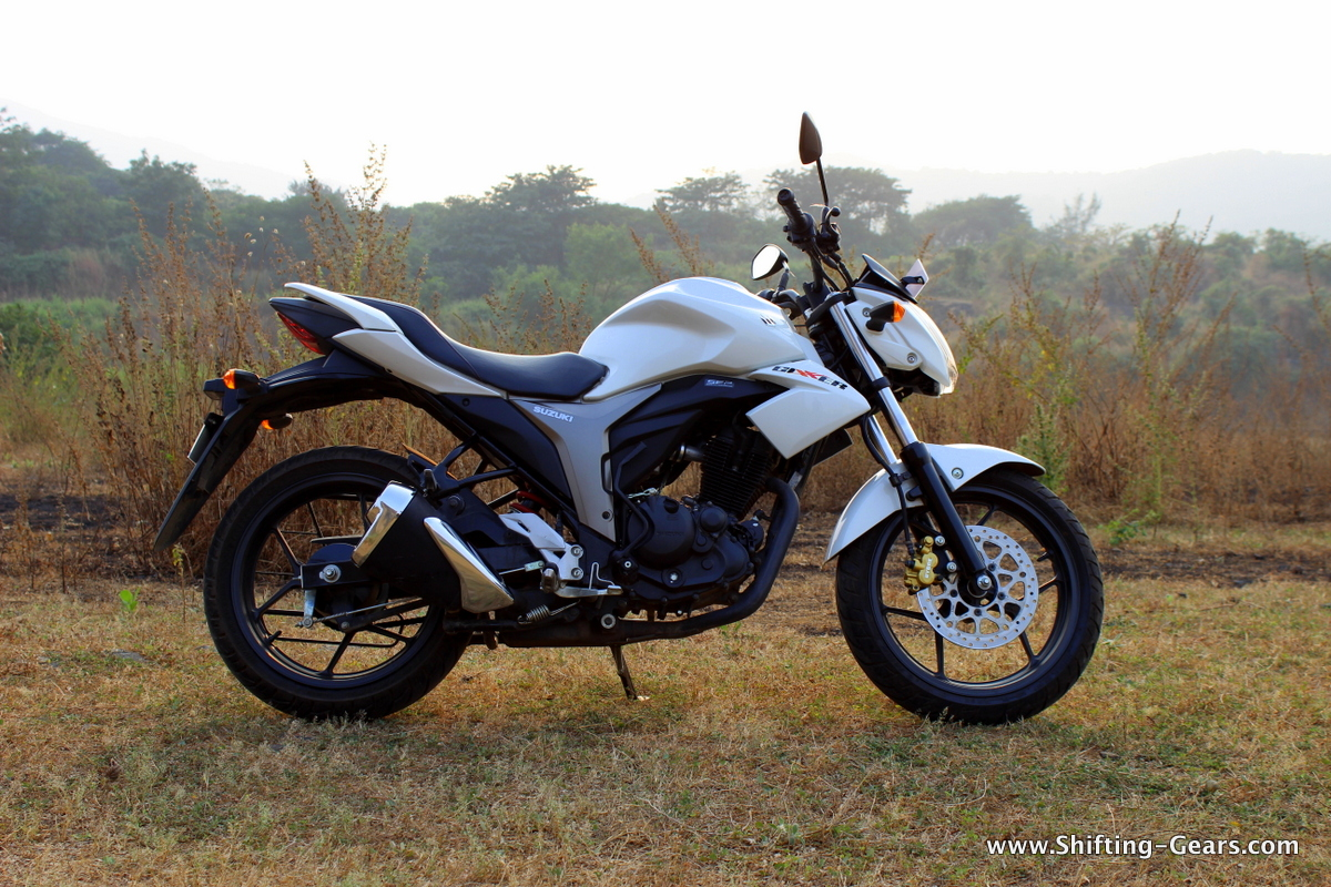 Suzuki has played it well by naming the bike as Gixxer, bringing down a higher displacement performance halo over a 150cc motorcycle