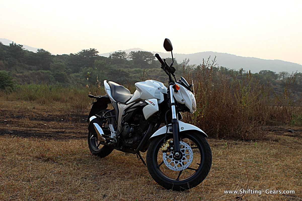 But it is not just the name, the Gixxer packs a lot of punch for the segment in every aspect and after a long time did we have so much fun in this category of motorcycles