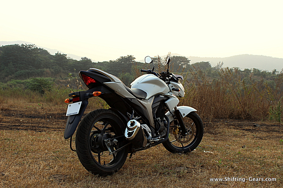 The rear end will never be mistaken for any other motorcycle, such is the design language