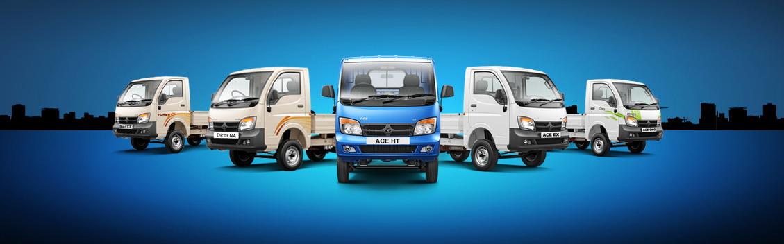 New Tata Motors mini-trucks at Municipalika 2014