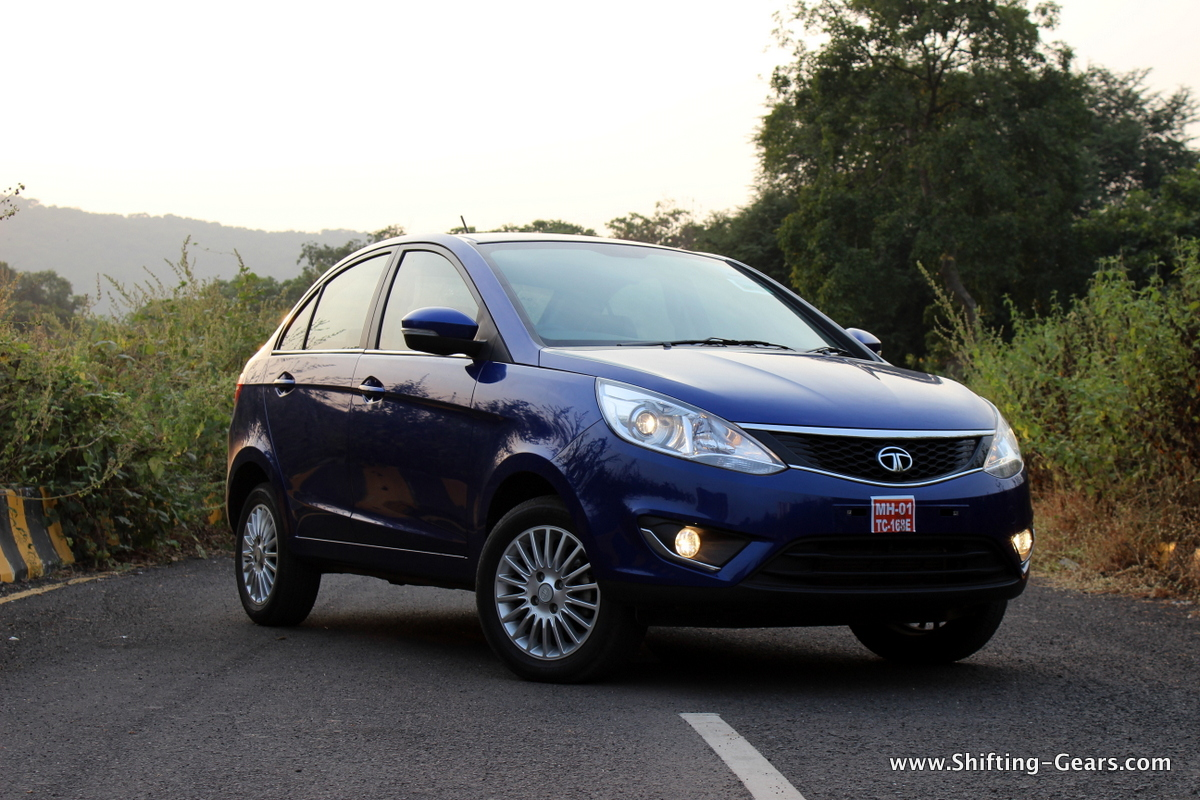 The Zest still resembles the old and dated round design language of Tata cars. Why?