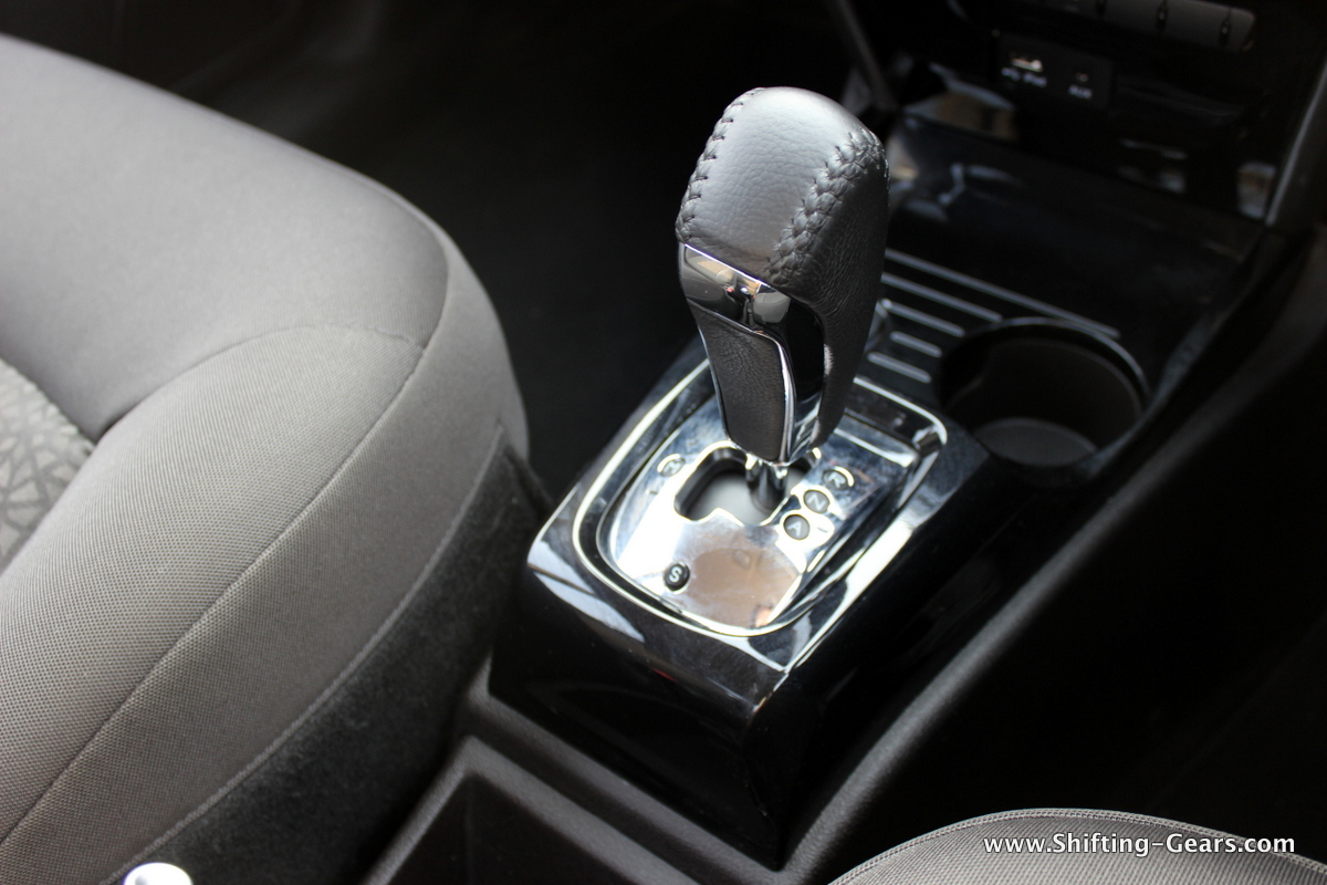 The AMT gearstick