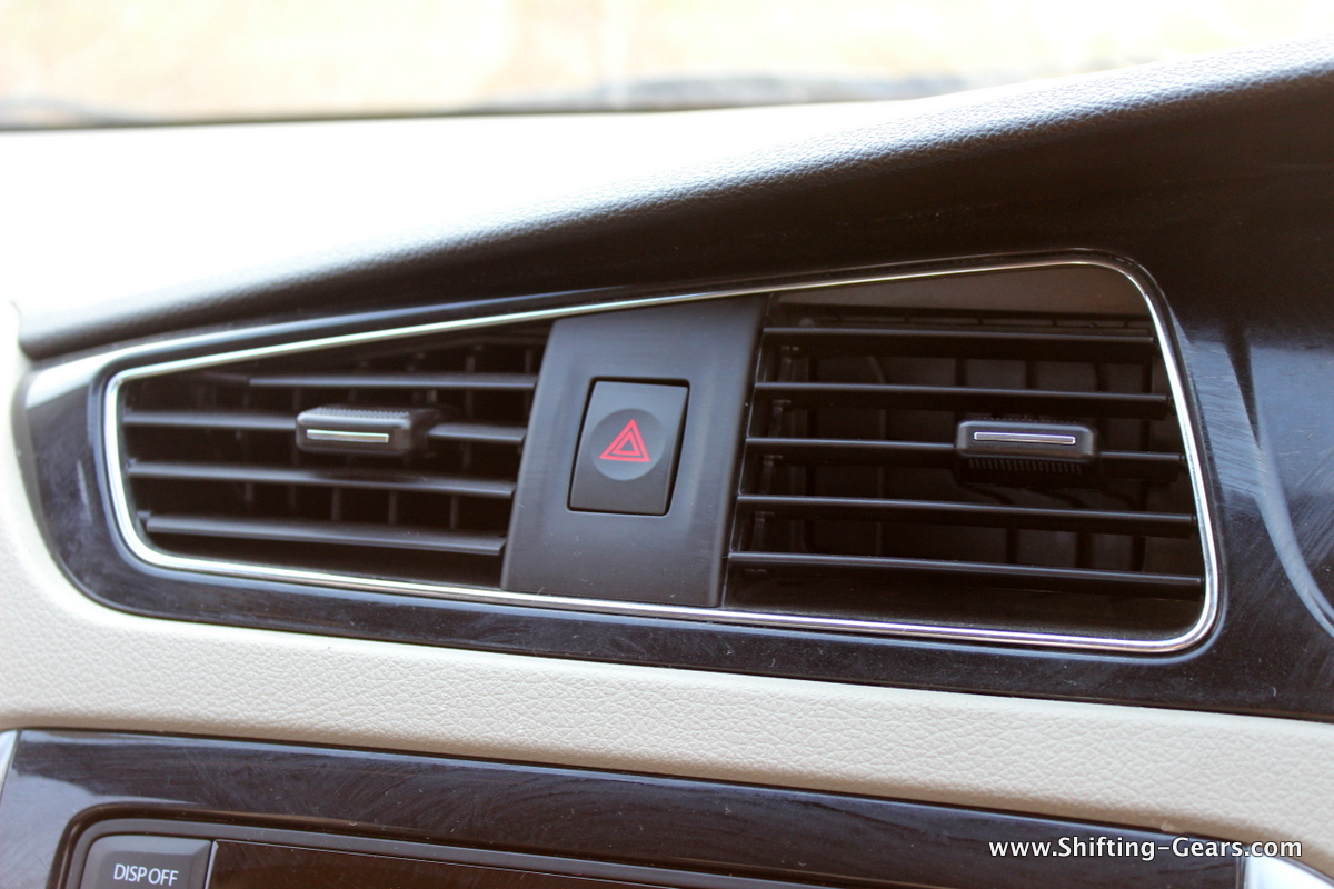 AC vents direct the air to the desired spot effectively