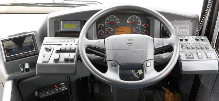 Volvo Bus Insid...
