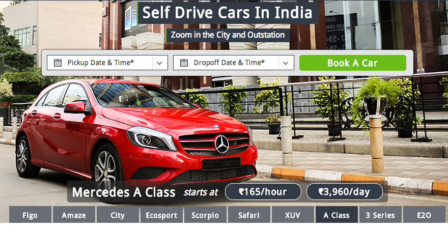 Self-drive ZoomCar now in Gurgaon