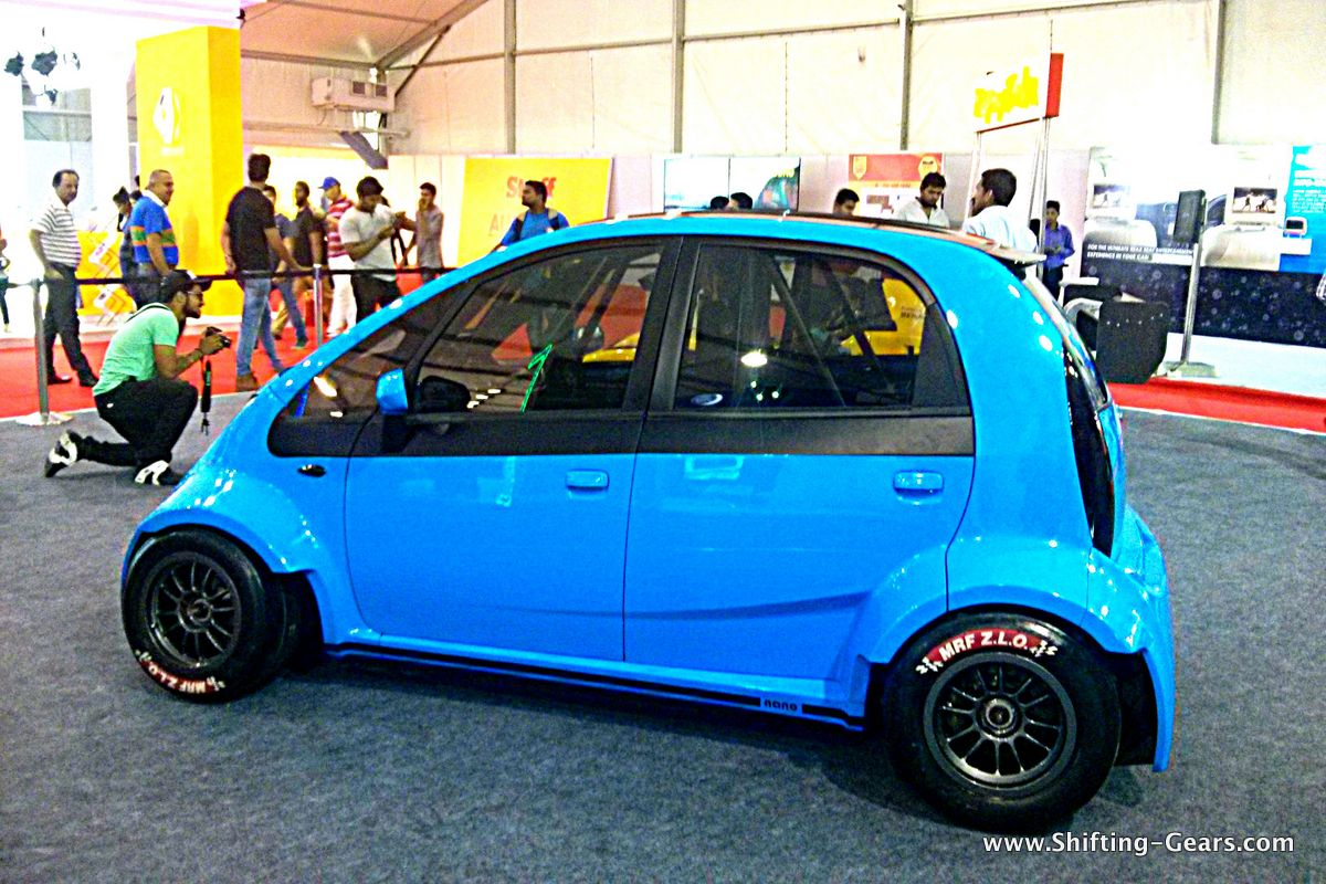 JA Motorsport reveals one-off 230 BHP Tata Nano