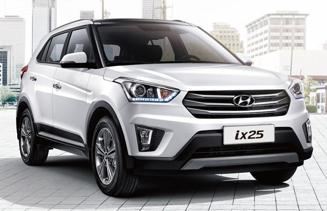 Rs. 1,000 crore invested for the Hyundai ix25