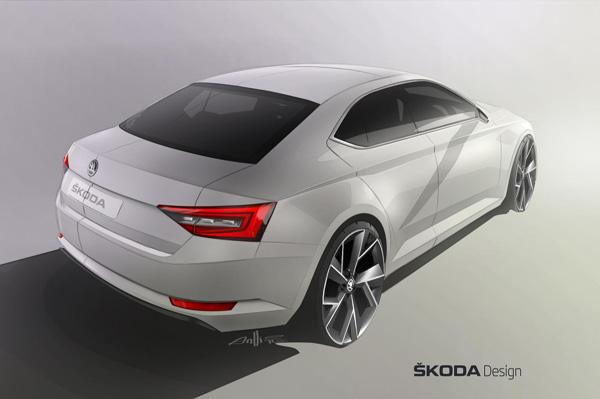 Next-generation Skoda Superb coming in 2015