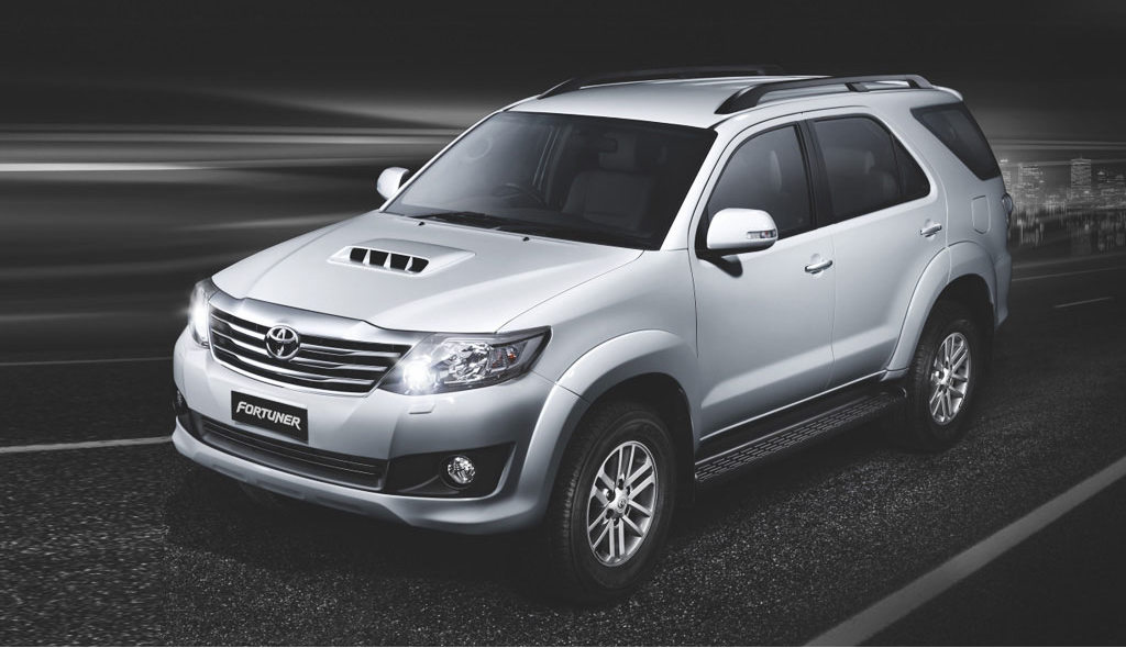 New Toyota Fortuner variants in 2015