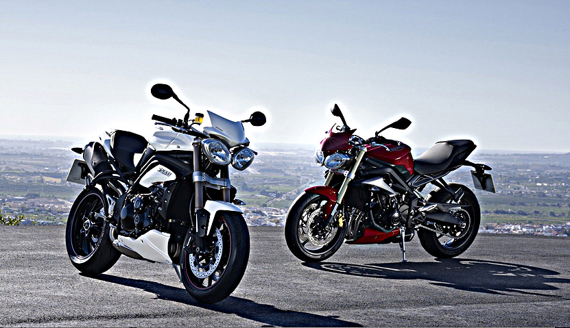 Triumph working on a updated Speed Triple