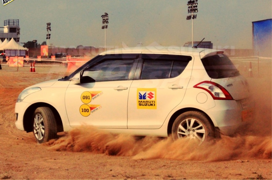 Maruti Suzuki Autocross in Mumbai on 13 December