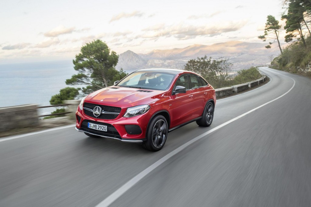 Mercedes-Benz GLE Coupe revealed