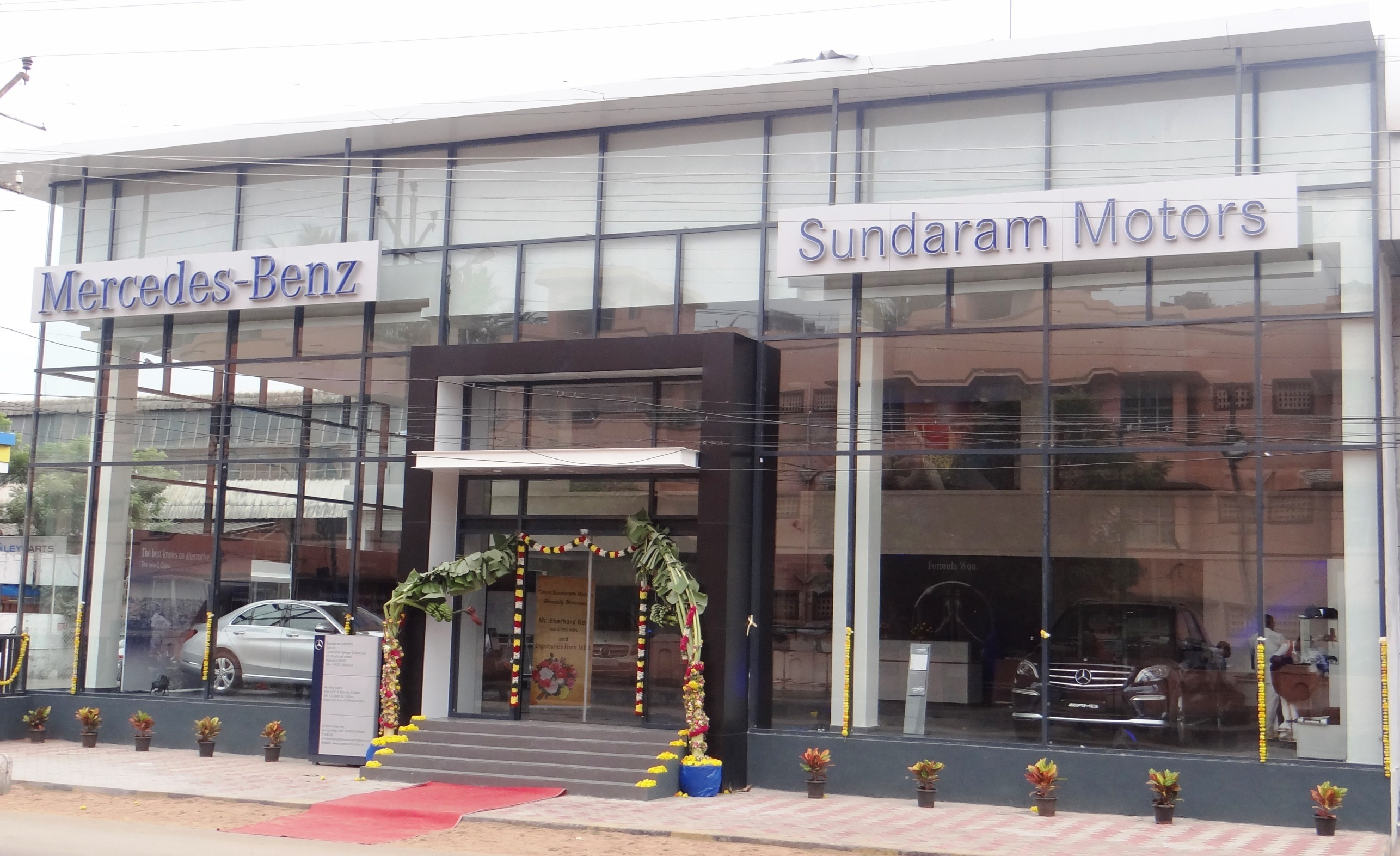 New Mercedes-Benz dealership in Madurai