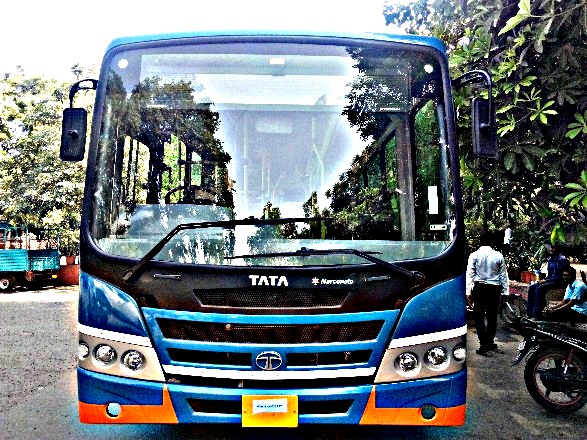Tata Motors rolls out 123 AC buses with automatic gearbox