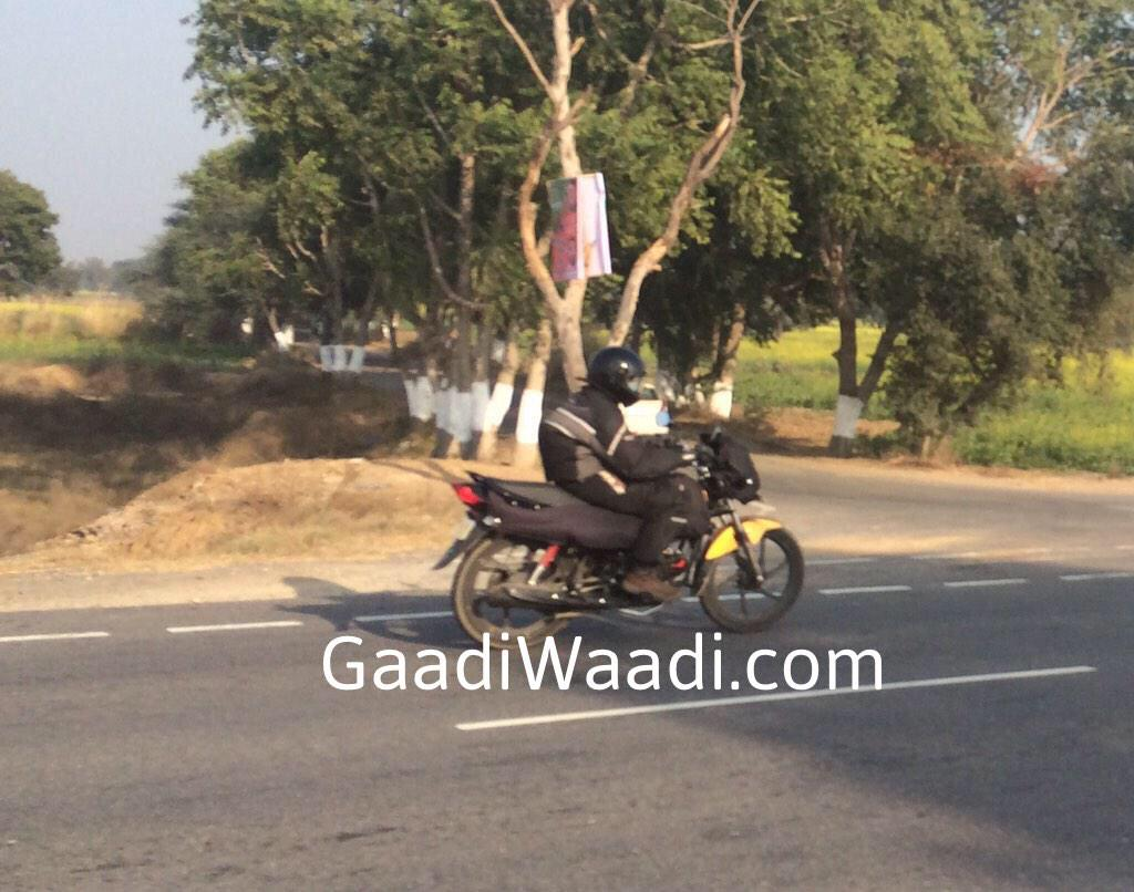 Hero MotoCorp Passion Pro facelift spotted testing