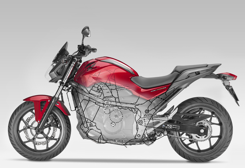 Honda plans NC750 supercharged motorcycle
