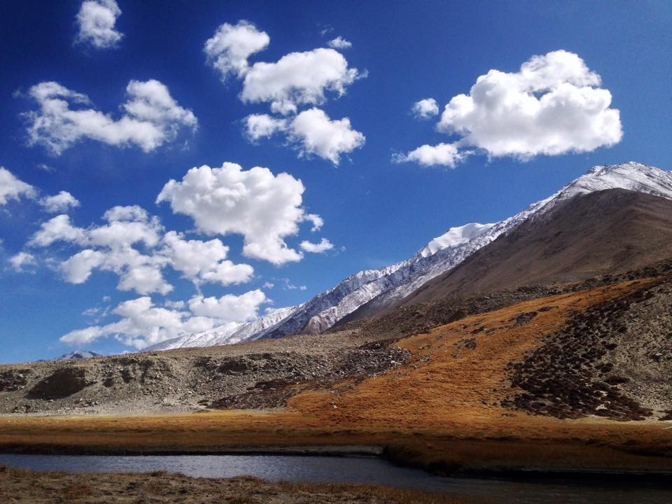 Fuel up on the world's highest motorable road