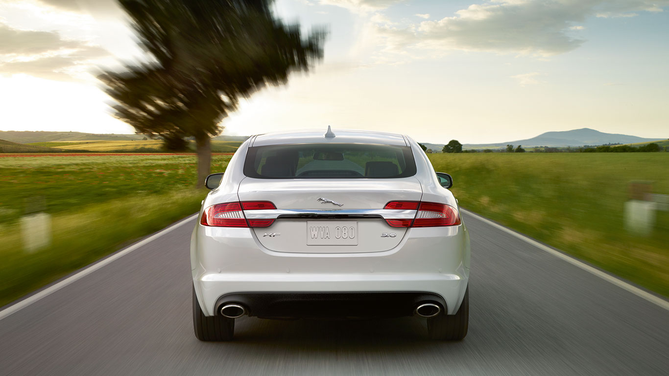 Next-generation Jaguar XF coming in 2015