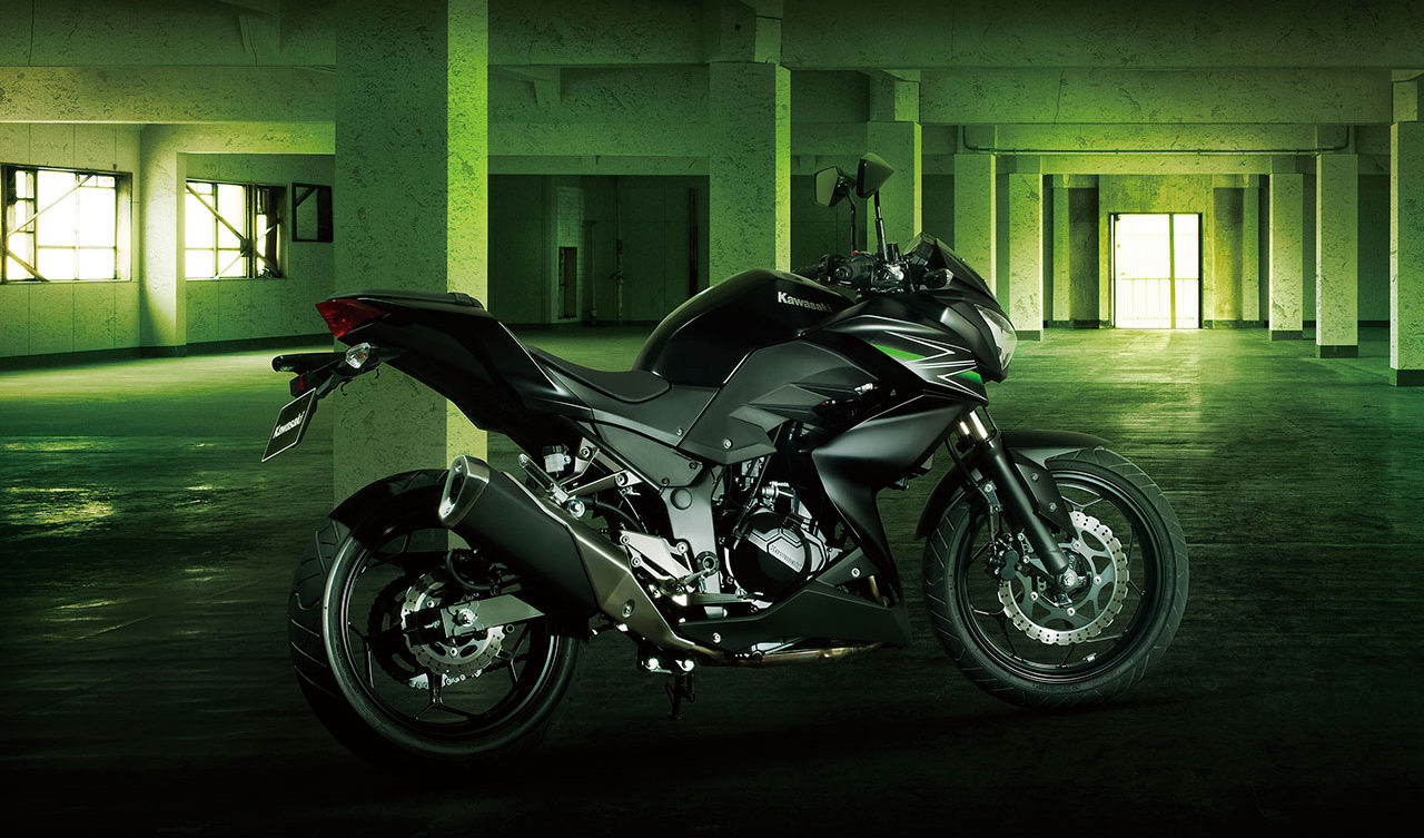 Kawasaki Z250 with ABS & slipper clutch in 2015