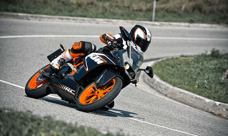 KTM working on a new 250cc engine