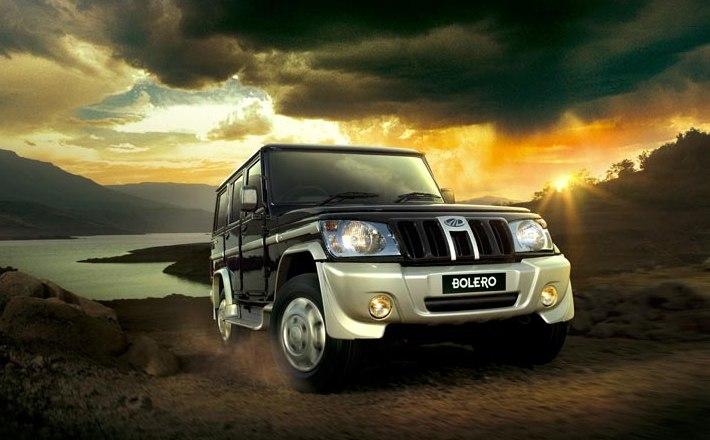 2015 Mahindra Bolero SUV spotted testing