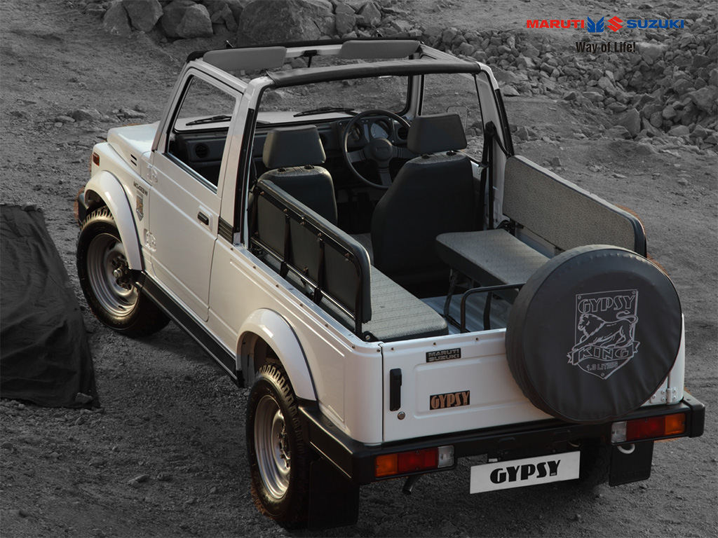 4,000 Maruti Gypsy's ordered by Indian army
