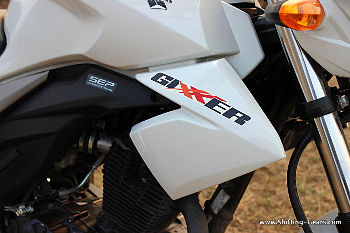 Suzuki Gixxer rusting parts to be replaced