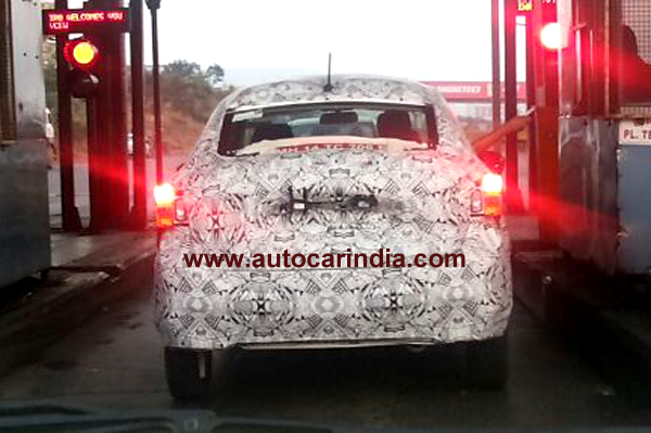 Tata Kite compact sedan spotted testing