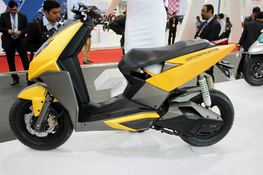 Remember the TVS Graphite concept?