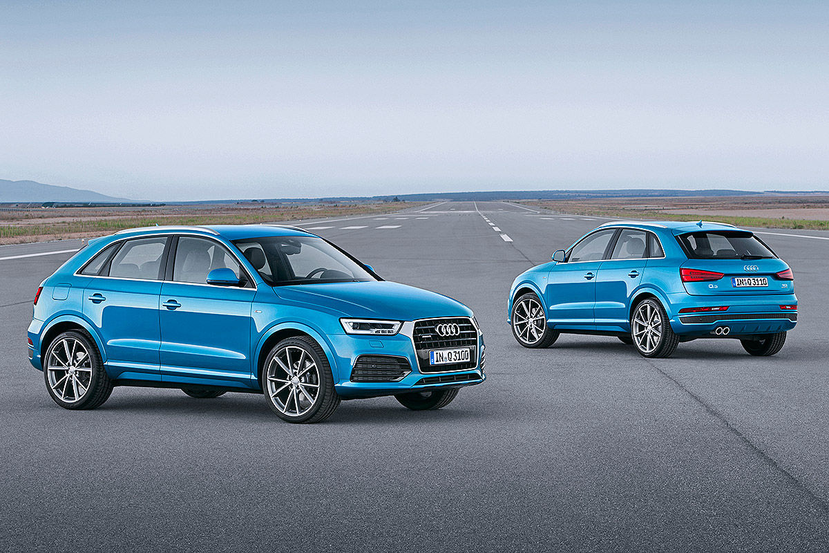2015 India Bound Audi Q3 Revealed Shifting Gears
