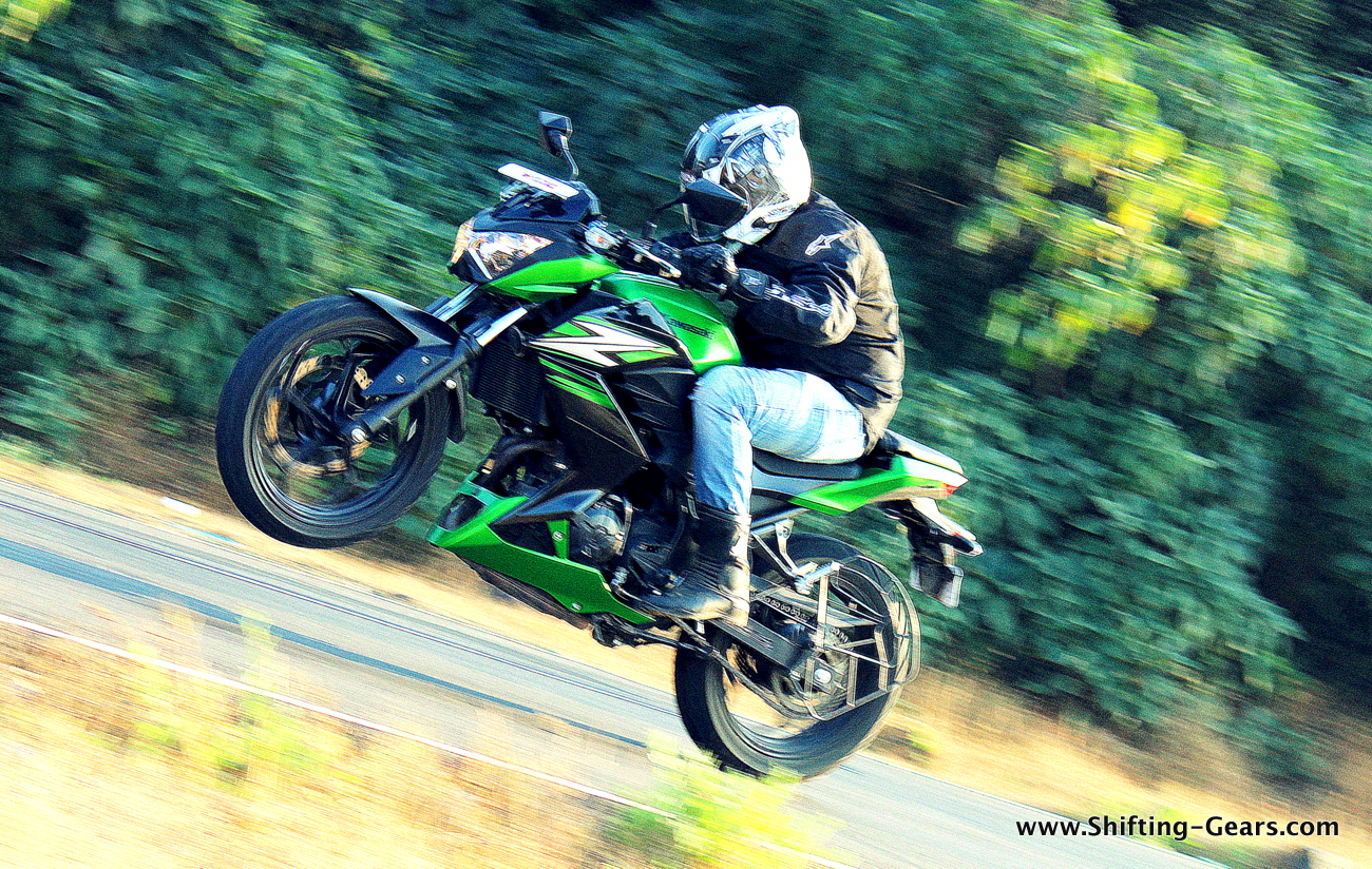 Kawasaki Z250 photo gallery