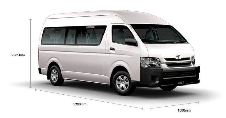 Toyota Hiace 10-seater van coming in 2015