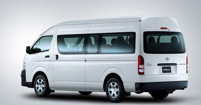 Toyota Hiace 10-seater van coming in 2015 | Shifting-Gears