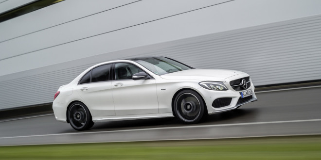 Mercedes benz c450 amg sport revealed shifting gears for Mercedes benz not shifting gears