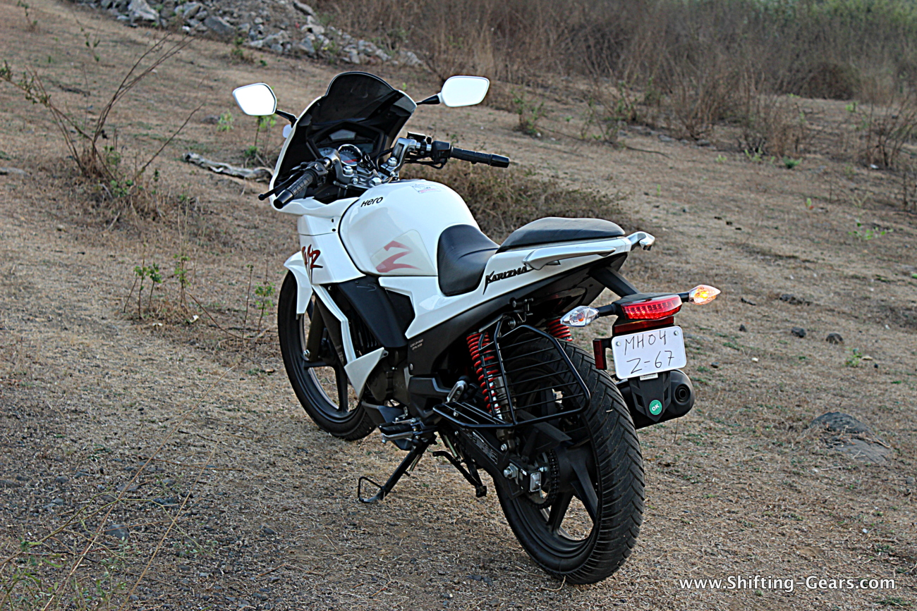 Hero Motocorp Karizma Zmr Review Shifting Gears Honda Bike 2014 09