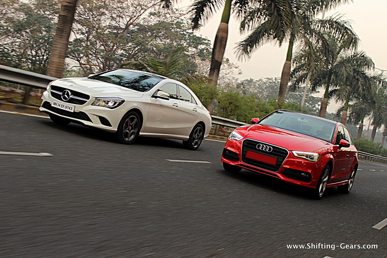 Mercedes-Benz CLA Vs. Audi A3