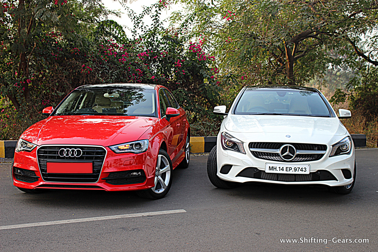 Mercedes Benz Cla Vs Audi A3 Shifting Gears