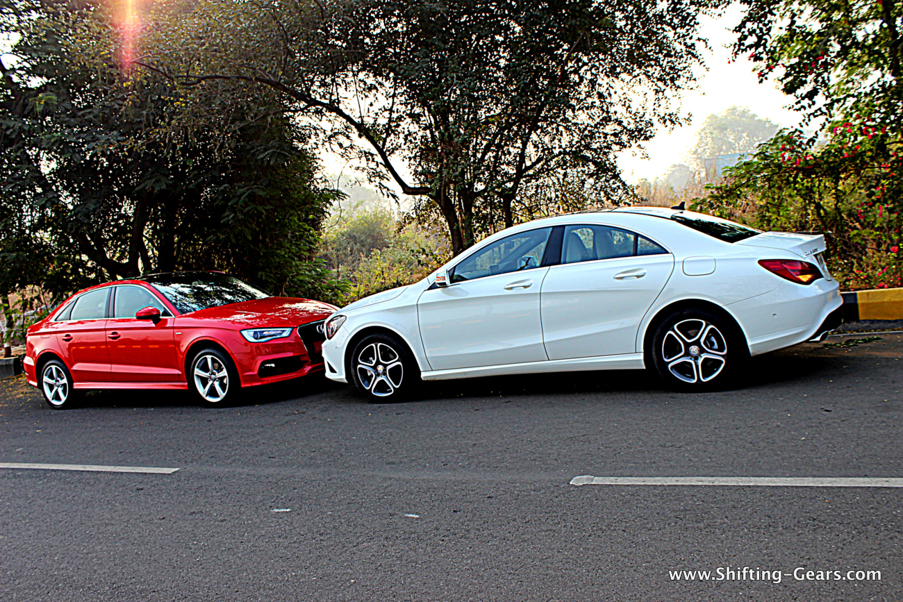 Mercedes benz cla vs audi a3 shifting gears for Mercedes benz not shifting gears