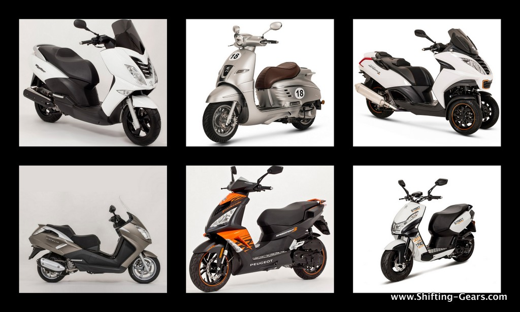 Mahindra imports 6 Peugeot scooters to India