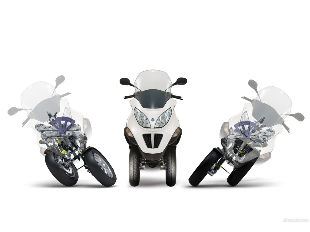 Piaggio imports 3-wheeler 125cc MP3 scooter for R&D