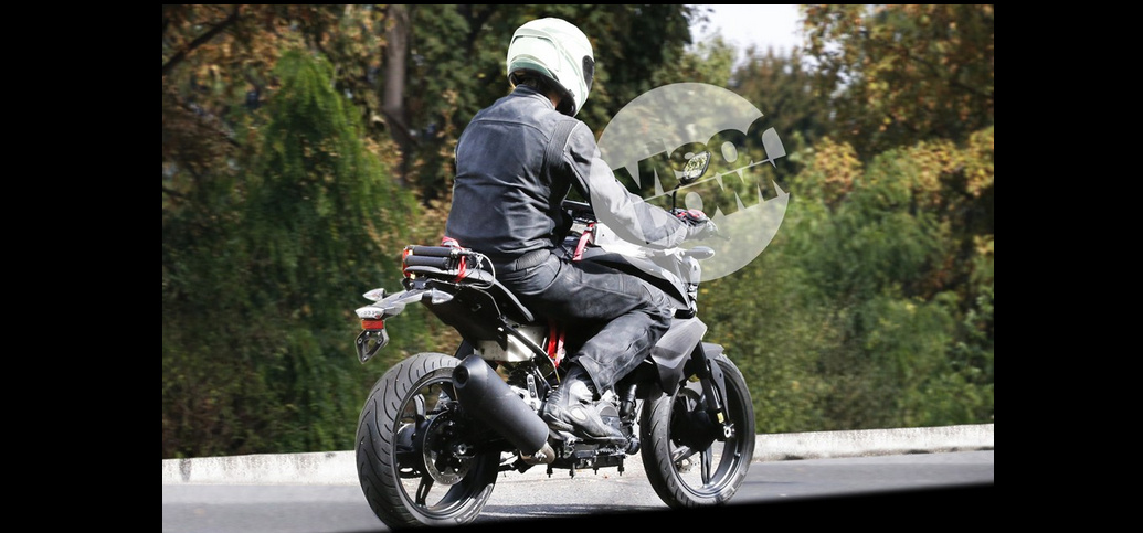First 300 cc TVS-BMW K03 Naked Bike Spotted Testing