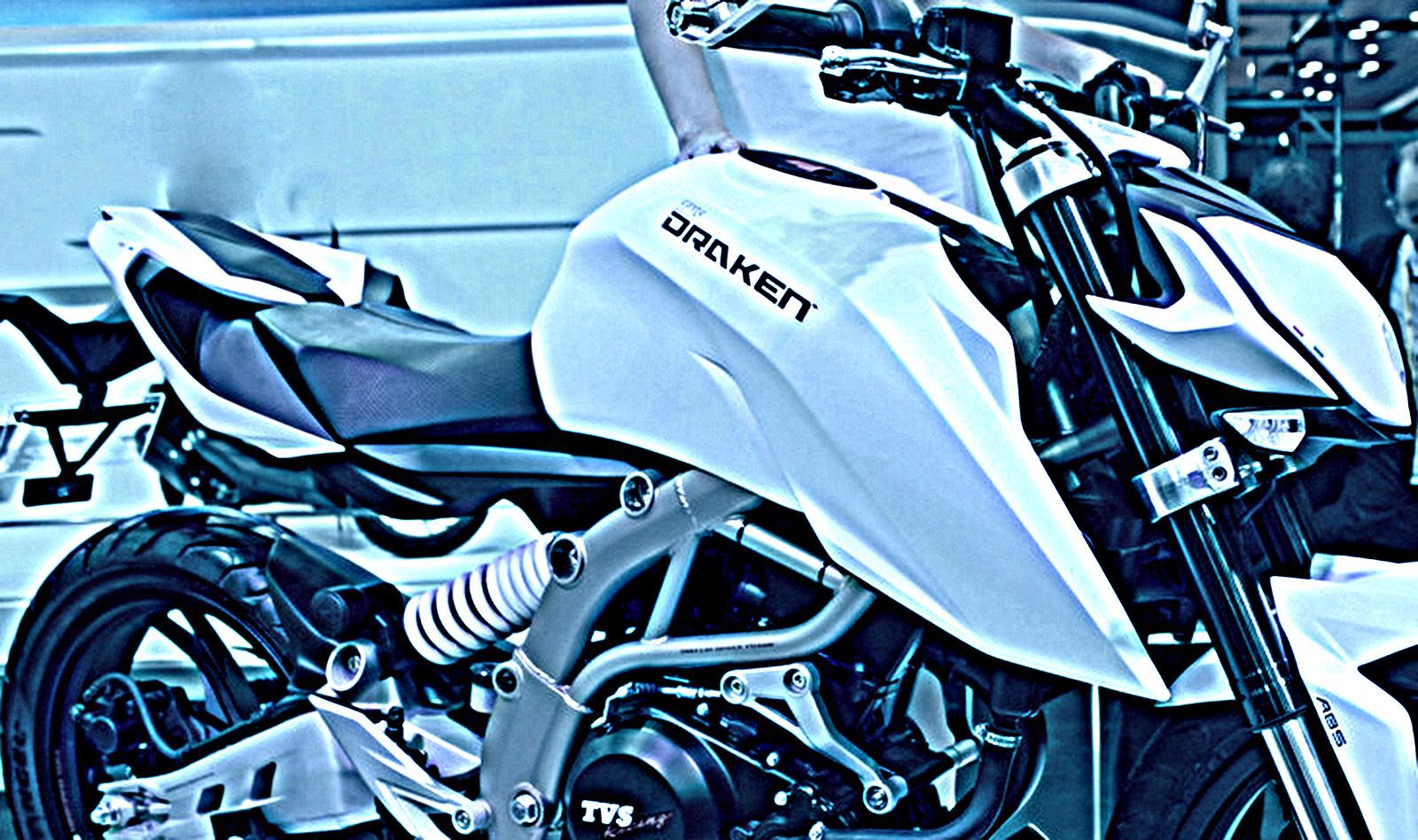 Draken-Inspired TVS-BMWs K03 Naked Bike Spy Pics
