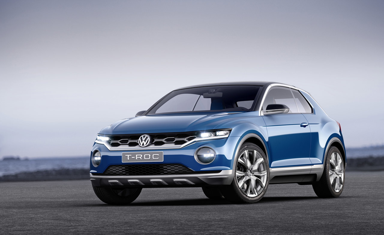volkswagen t roc based compact suv for india shifting gears. Black Bedroom Furniture Sets. Home Design Ideas