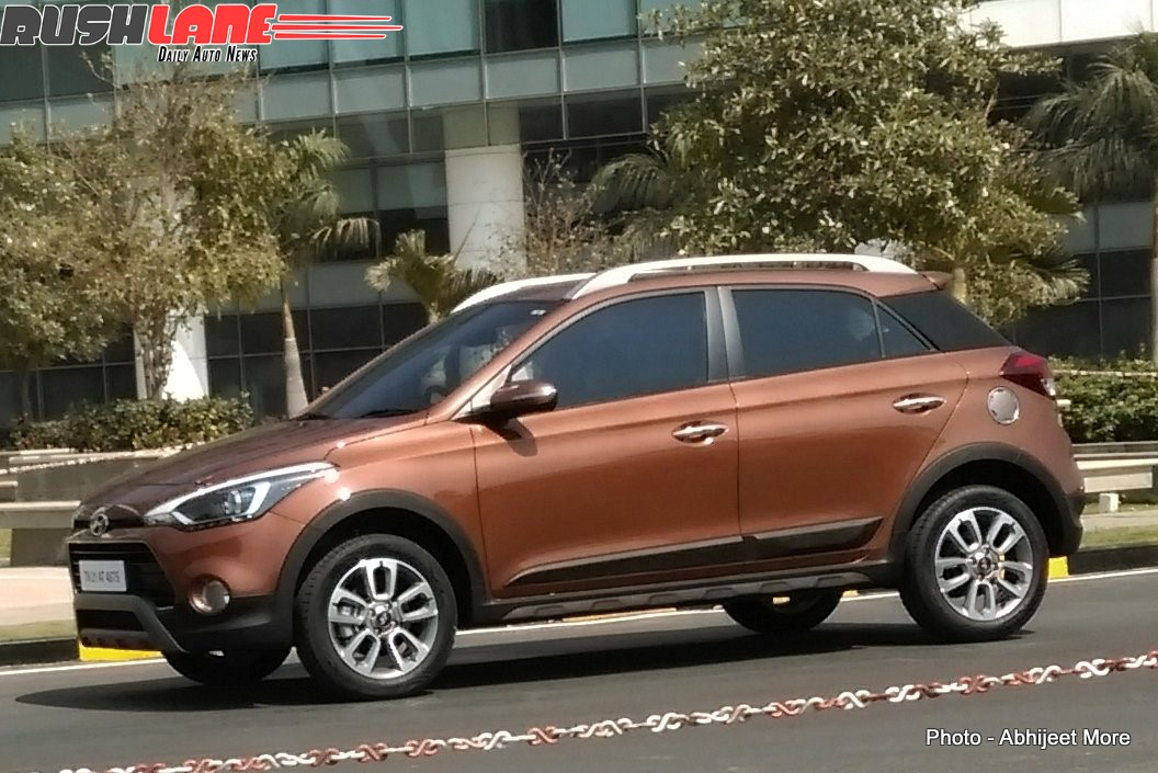 hyundai i20 active is the official name of the crossover shifting gears. Black Bedroom Furniture Sets. Home Design Ideas