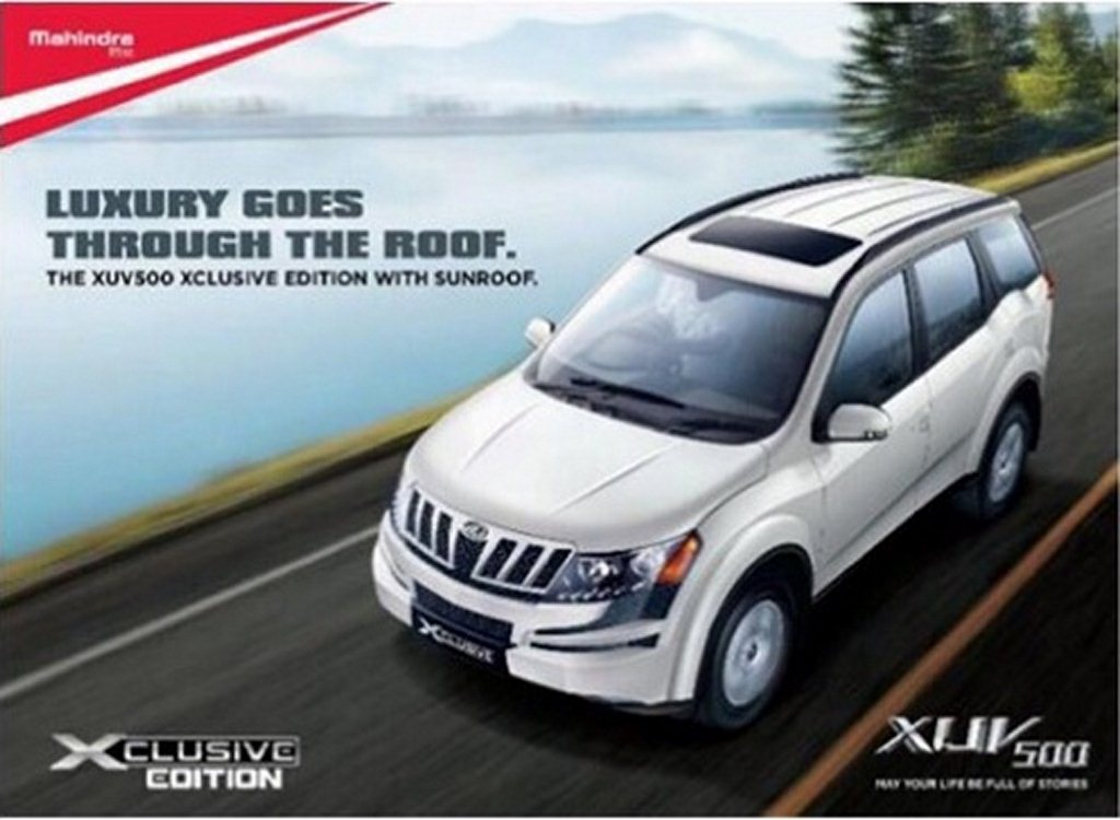 Mahindra XUV5OO Xclusive Edition launched @ Rs. 14.49 lakh