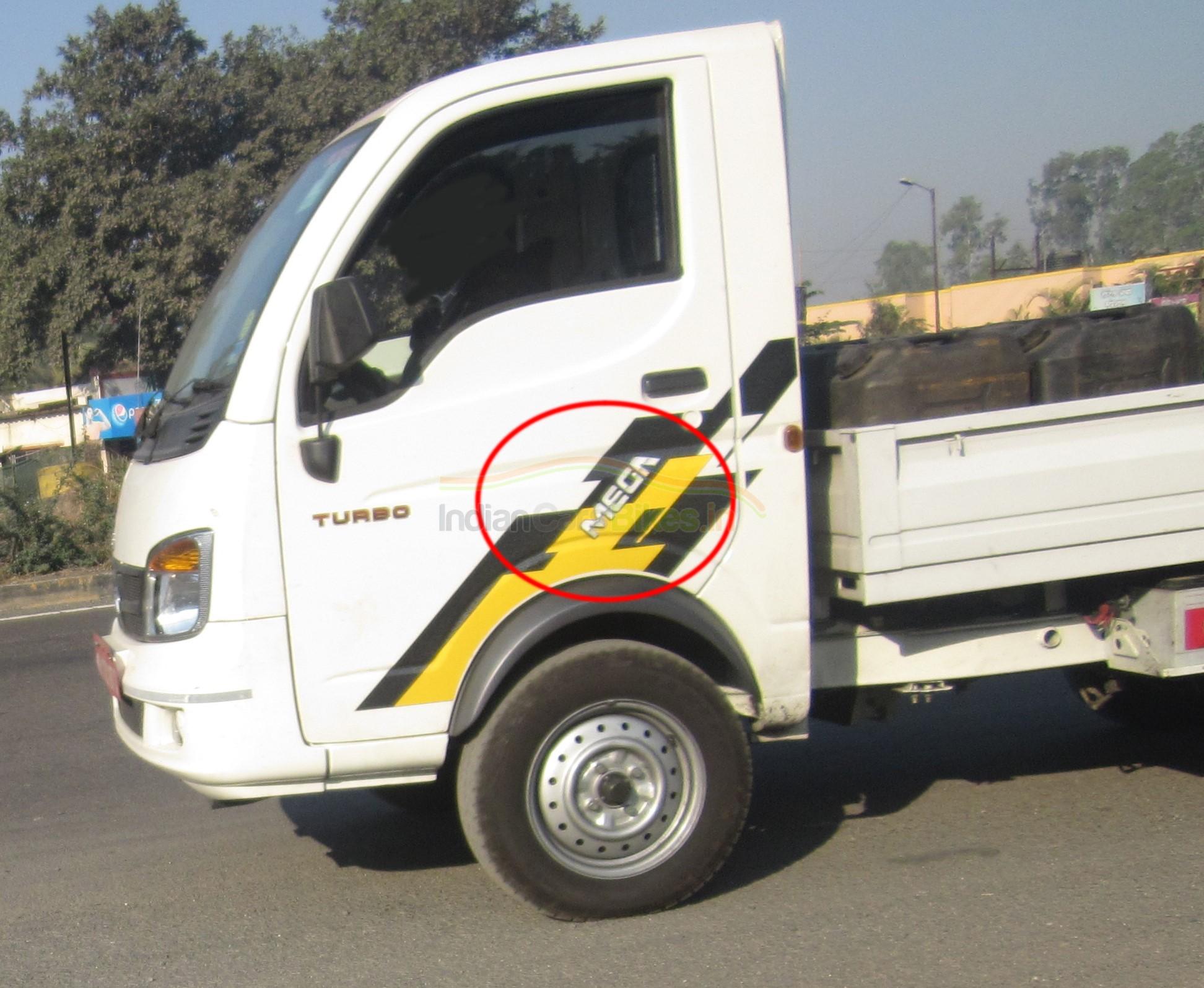 Tata Ace Mega LCV spotted testing