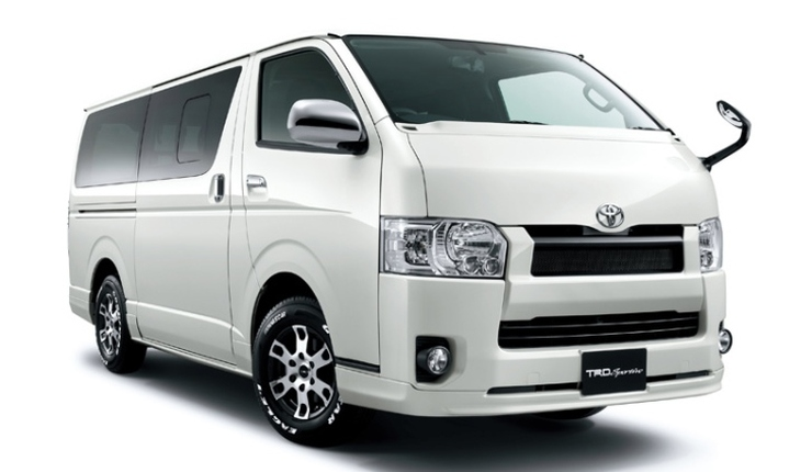 Would you pay over Rs. 40 lakh for a Toyota Hiace?