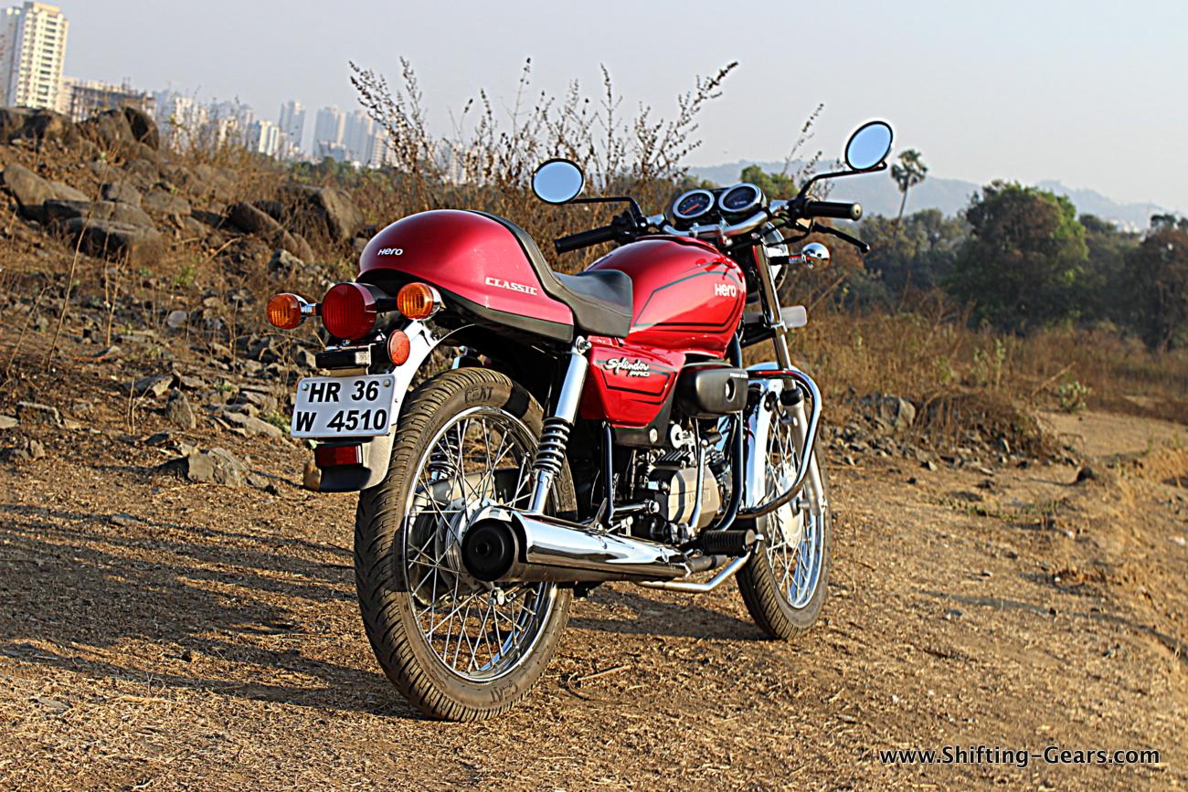 Hero Motocorp Splendor Pro Classic Photo Gallery